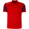 POLO SUPRA (poliester) RED